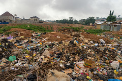 Abuja Slum Dump (Packing-Light) Tags: poverty life africa people house water trash living smog dangerous community families culture safety pollution nigeria shanty income disease slum congestion pirogue crowded abuja disparity westernafrica federalcapitalterritory