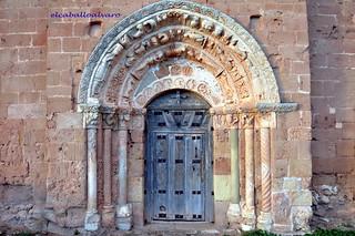 367 - Portada - Iglesia San Andrés - Soto de Bureba (Burgos) - Spain.