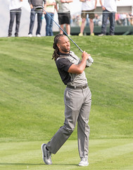Larry Fitzgerald (Ron Drew) Tags: arizona golf football nikon universityofpittsburgh nfl az scottsdale pga d800 phoenixopen arizonacardinals larryfitzgerald