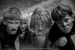 DSC_8697-2 (artisdefiance) Tags: portrait blackandwhite boys kids lost costume scary nikon zombie naturallight wideangle tokina fairy scifi horror rabies faerie fae mythic newyorkfairiefestival