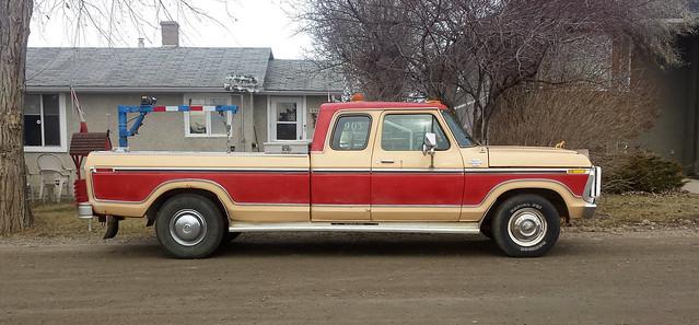 ford truck ranger pickup 70s 1977 xlt f250