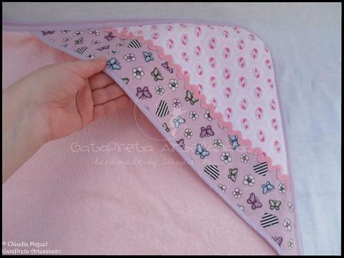 Conjunto tecido bebé A Fada e os pózinhos perlimpimpim lilás14