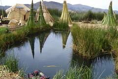 2007 - Peru - Lake Titicaca - Drying the Reeds (bellrockman2011) Tags: peru laketiticaca knitting cusco quinoa weaving puno taquileisland yavari lakedwellers