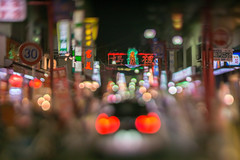 panda in Chinatown (turntable00000) Tags: night panda chinatown nightscape bokeh chinese bmw nightview yokohama hear takashi 2015 kitajima bokehlicious extrabokeh