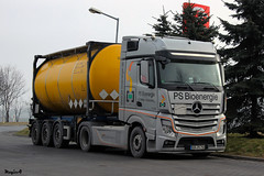 Mercedes Actros MP4 / PS BIOENERGIE (D) (magicv8m) Tags: mercedes transport mp3 trans mp4 lkw tir actros