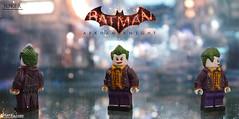 Joker ~ Batman: Arkham Knight (Logan Fulford) Tags: joker arkham asylum knight custom lego figure minifigure batman