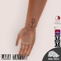 Lara Hands (Natasha, SL Model/Creator) Tags: sl second life secondlife tat tatt tattoo ink female lara maitreya slink omega belleza wrist back chest sternum