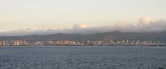 Honolulu Skyline at Dawn (Stabbur's Master) Tags: honolulu skyline honoluluskyline waikikibeach