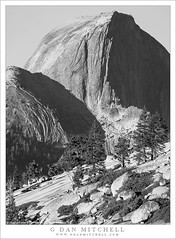 Half Dome (G Dan Mitchell) Tags: halfdome tioga road morning olmsted point icon yosemite national park california usa north america landscape nature blackandwhite monochrome