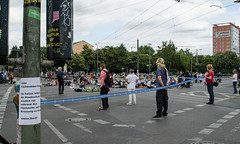 Die-In gegen Ausbau der A100 in Berlin (BUNDjugend Berlin) Tags: berlin protest autobahn flashmob a100 diein bundjugend a100stoppen a100stop