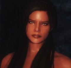 Noor - Female Redguard character preset (teriric) Tags: face character characters mods preset presets skyrim tesv racemenu