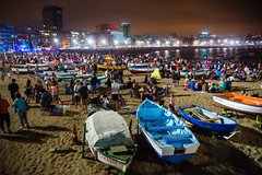 "2016-06-23 Noche de San Juan, Las Palmas (05) - ""Noche de San Juan"" (Johannisnacht) - Fiesta in der krzesten Nacht des Jahres (Sommersonnenwende) am Strand von Las Canteras in Las Palmas de Gran Canaria. (mike.bulter) Tags: people beach grancanaria strand boot boat spain fiesta kanaren canarias menschen espana canaries canaryislands esp spanien personen playadelascanteras feier rowingboat laspalmasdegrancanaria kanarischeinseln johannisnacht sonnenwende ruderboot sommersonnenwende fiestadesanjuan puertocanteras nochedesanjuanenlascanteras"