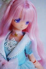 Kotori is here <3 (Craia) Tags: pink cute ex hair doll princess cosplay no manga kawaii 16 minami mermaid pure kuni neemo otogi kotori azone excute ningyohime