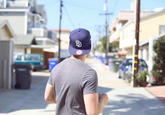 Coronado Island, CA (Ash Dowie) Tags: canon 6d 50mm f14 14 portrait people sandiego padres snapback guy boy bokeh dof sun summer july street candid usa america california cali socal coronado island ca travel photography family vacation holiday dslr slr ef