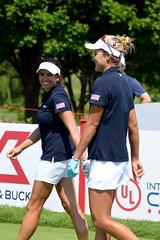 Gerina Piller & Lexi Thompson - Team USA (michaelcurranphotography) Tags: golf lpga meritclub ulinternationalcrown