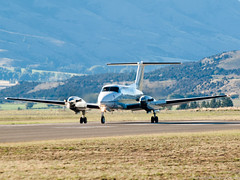Photo (Rorohiko) Tags: king air over super beechcraft raytheon warbirds wanaka beech b200 nz7122