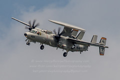 20160502_1478 (HarryMorrowPhotography) Tags: 168990 ab604 vaw125 us navy e2d hawkeye doing several approach procedures oceana may 2016