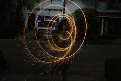 Spiral (anagarciagf) Tags: spiral round newyear infinite light slow amazing beautiful city girl streets