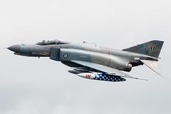 McDonnell Douglas F-4E Phantom II (Przemyslaw Burdzinski) Tags: mcdonnell douglas f4e phantom ii greecee air force 71755 raf fairford tattoo 11072016