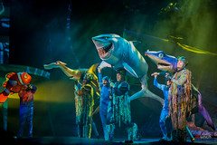Fish are Friends, Not FOOD (D Punch Photography) Tags: fish sharks animal kingdom disney nemo musical puppets