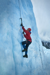 [Explored] - Ice Climber - Me on an Ice Wall (denny.yang) Tags: none ice climber climbing wall alaska sony a7rii a7rm2 winter axe