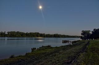 Un beau clair de lune