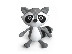 Raccoon softie sewing pattern (DIY Fluffies) Tags: raccoon plushie softie sewingpattern sewing pattern diyfluffies diy crafts make toy amigurumi