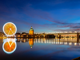 Summer night in Toulouse (3)