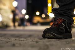 Dechatlon (Fabio75Photo) Tags: red bokeh scarpe tennis terra jeans luci citt