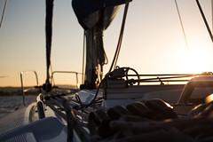 Sunset (ern3stooo) Tags: sonne sonnenstrahlen sonnenuntergang see segeln meer boot segelboot sun sunset boat sea sunbeams ruhe quite