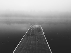 (bradleymeyer25) Tags: outdoors nature water wood dock morning wisconsin fog river