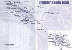 IRANAIR [2004-2005] Route Map (tubular60) Tags: iranair iran timetable airline tehran bandarabbas chabaha kish bandarlengeh shiraz ahwaz tabriz kermanshah masshad zahedan urmieh ardabil yazd isfahan damascus beirut baku kuwait bahrain doha abudhabi jeddah dubai muscat sharjah karachi mumbai delhi dhaka kualalumpur singapore beijing seoul tokyo tashkent almaty moscow larnaca athens ankara istanbul geneva rome vienna berlin frankfurt hamburg stockholm madrid milan paris cologne london amsterdam copenhagen gothenburg