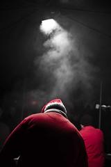 Weihnachtsmarkt Niederorschel :) (:: Blende 22 ::) Tags: christmas blue blackandwhite white black monochrome canon germany weihnachten deutschland thringen blackwhite market bluesky weihnachtsmarkt thuringia german bluehour christmastime eic colorkey eichsfeld canoneosd canoneos5dmarkii ef2470f28liiusm