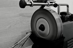 Tools of the trade (davidheath01) Tags: slowshutterspeed movement spinning wheel stone water blandandwhite blacknwhite nikond5100 nikon tools blackandwhite carpentry shutterspeed nikonflickraward