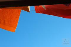 (Lucipag) Tags: sky colors laundry cielo arancione bucato