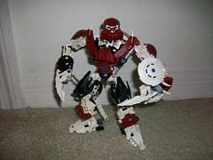 Red Toa (See Music) Tags: lego bionicle mocs