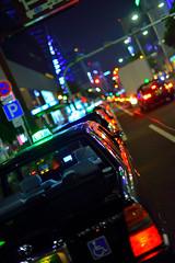 nagoya_taxi (amduser86) Tags: japan 50mm taxi nagoya nikkor afs d600 f14g