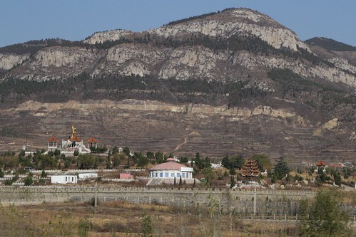 Temple on the foothills of Mount Tai in Shandong province