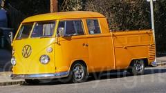 VW Pickup Truck, Edgewater, New Jersey (jag9889) Tags: auto orange usa car yellow vw truck germany volkswagen newjersey automobile unitedstates unitedstatesofamerica nj transportation vehicle van 2008 edgewater wolfsburg gardenstate march20 bergencounty 07020 zip07020 20080104 y2008 germancarmanufacturer jag9889