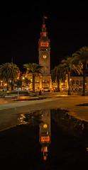 """""""Two Points"""" (bobbyz95) Tags: sanfrancisco california orange reflection unitedstates embarcadero ferrybuilding orangetogether"""