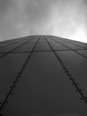 (Shan B.) Tags: bw white black museum architecture manchester mono north salford quays greyscale iwm