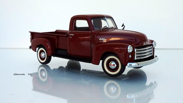 pickuptruck gmc 1950 diecast longbed franklinmint 124scale