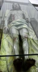 Escultura imagen Cristo Yacente Museo Palacio Pedro I Astudillo Palencia 532 (Rafael Gomez - http://micamara.es) Tags: esculturas religiosas museo palacio pedro i astudillo palencia imagen escultura estatua real monasterio de santa clara