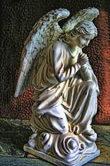 Praying Angel (kaper777) Tags: statue angel wings prayer praying kneeling