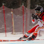 Soleil Patterson (Red Mountain Racers) 6th and Most Improved at U18 Nationals Super-G PHOTO CREDIT: Derek Trussler