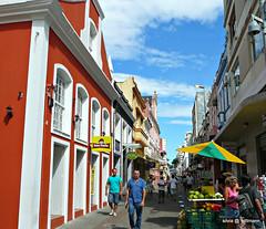 Florianópolis - Rua Conselheiro Mafra (silwittmann) Tags: brazil people urban sc colors brasil architecture buildings cityscape florianopolis santacatarina streetscape pedestrianstreet ruaconselheiromafra