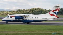 OY-NCM Dornier 328-310 British Airways (Sun-Air of Scandinavia) (kw2p) Tags: canon aircraft manchesterairport dornier egcc canoneos400ddigital oyncm 328310 kennywilliamson egccman cn3190 britishairwayssunairofscandinavia kw2p