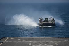141210-N-CU914-014 (SurfaceWarriors) Tags: sea island exercise hawk flight navy lenny deck lacrosse platforms harrier makin aav certification av8b certex mh60 hooyah