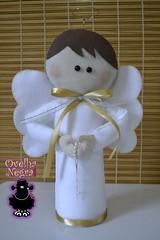 Anjinhos 35cm (ovelhanegra_toys) Tags: party angel handmade decoration batizado felt baptism angels newborn feltro anjos manualidades anjinhos fieltro feltcraft feitoamão ovelhanegratoys