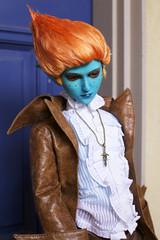 Nebulo (zoziebrown) Tags: ball asian doll bjd thunder abjd jointed balljointeddoll blueskin nebulo aliendoll mirodoll mirodollthunder